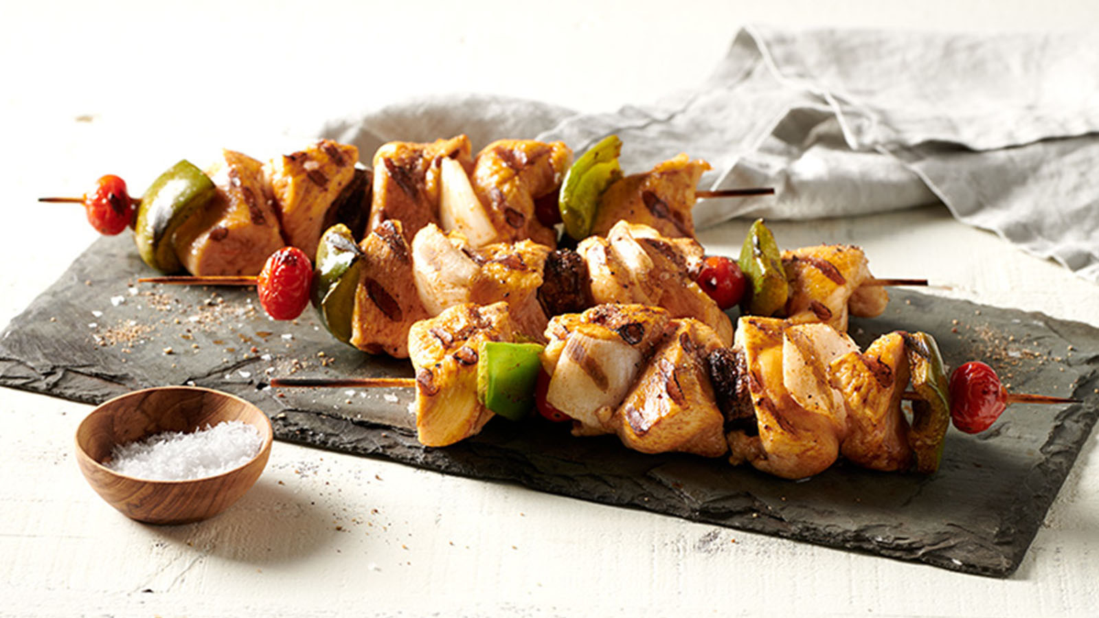 Chicken Kabobs and Ultimate Skewers