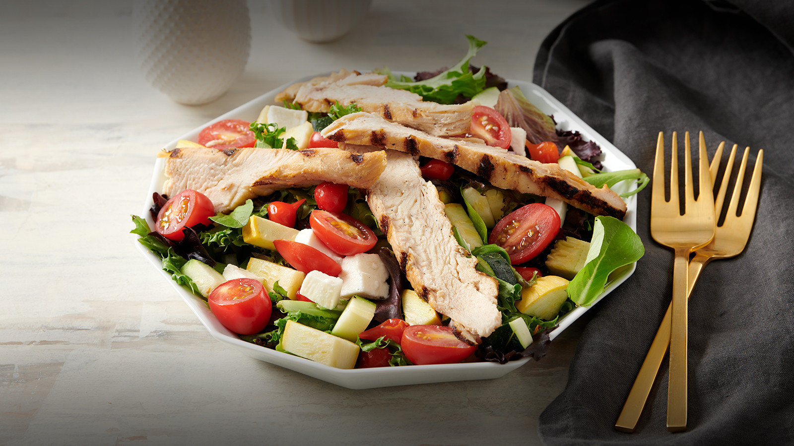 Summer Chicken Cobb Salad