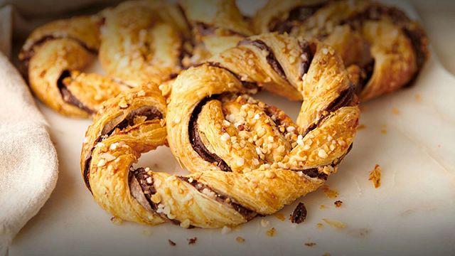 Chocolate Braided Bretzel