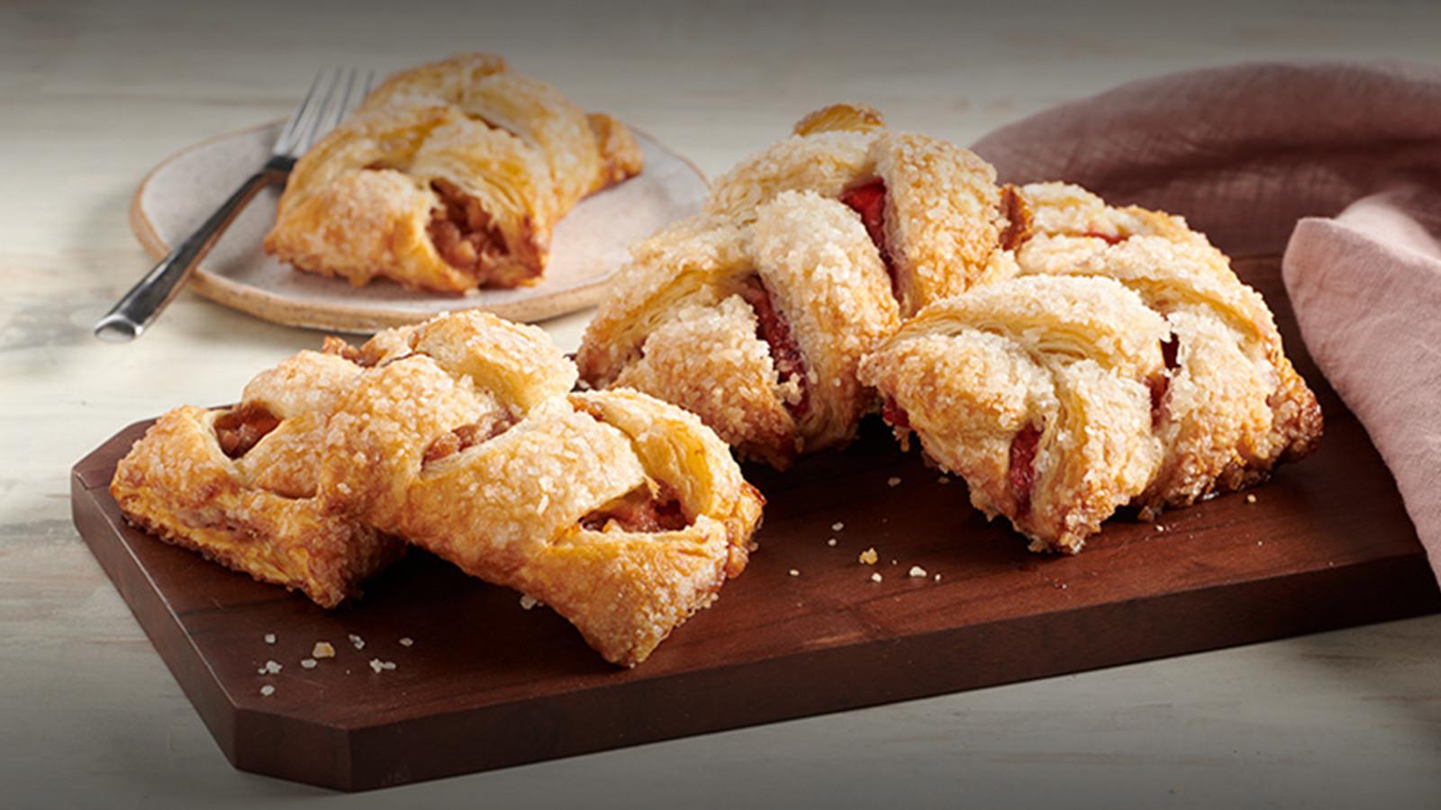 Fresh Baked Strudels & Danish Pastries