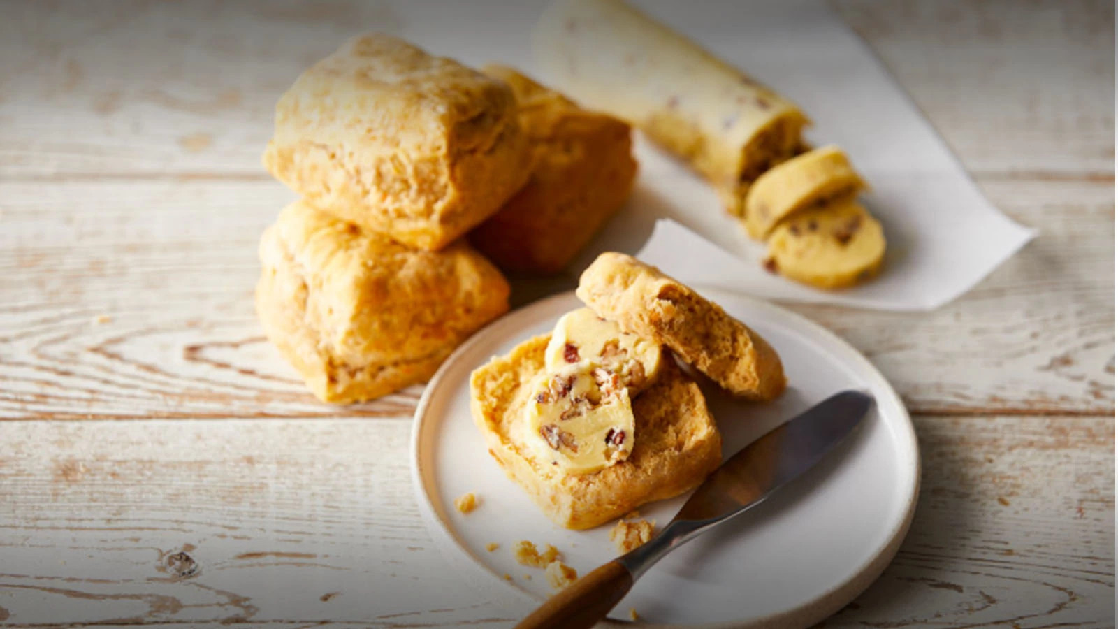 Cream Cheese Biscuits or Sweet Potato Biscuits