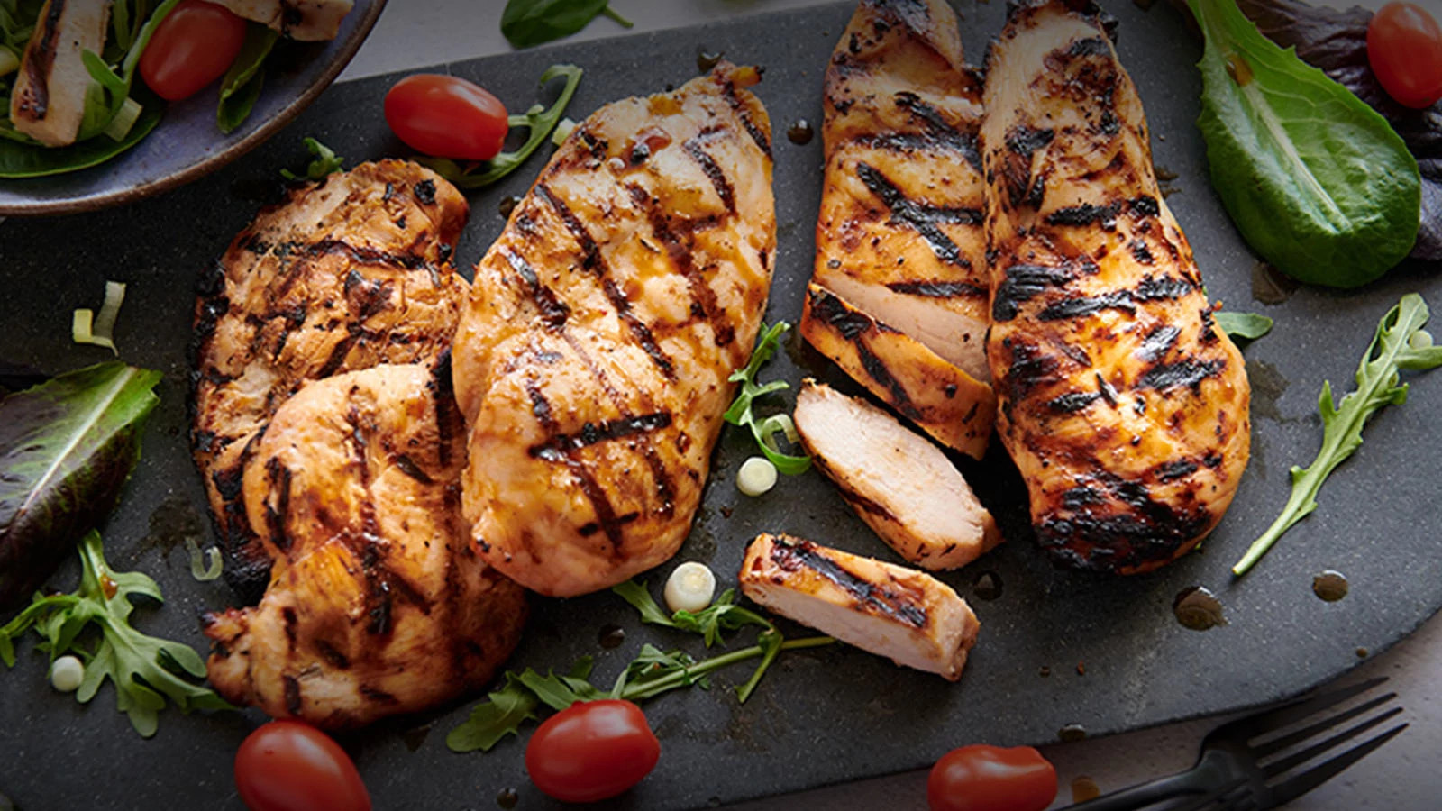 Breaded and Marinated Chicken Breasts